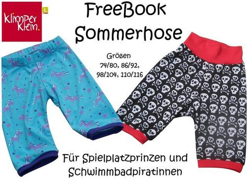 Freebook Sommerhose