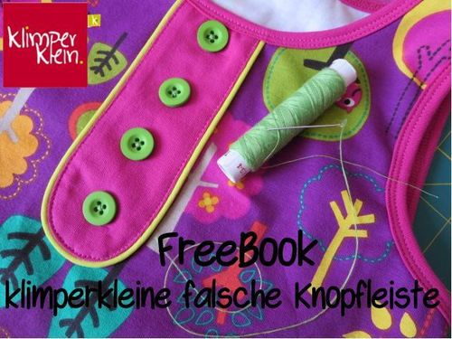 Freebook Fake Knopfleiste