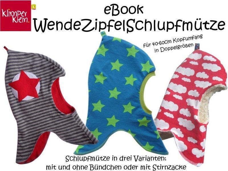 Extrem eBook WendeZipfelSchlupfmütze - klimperklein Onlineshop UW38