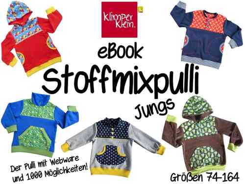 eBook Stoffmixpulli Jungs