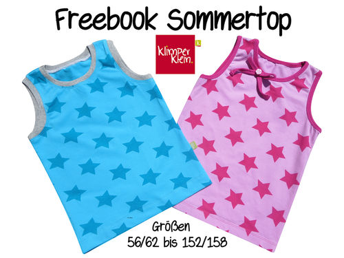 Freebook Sommertop
